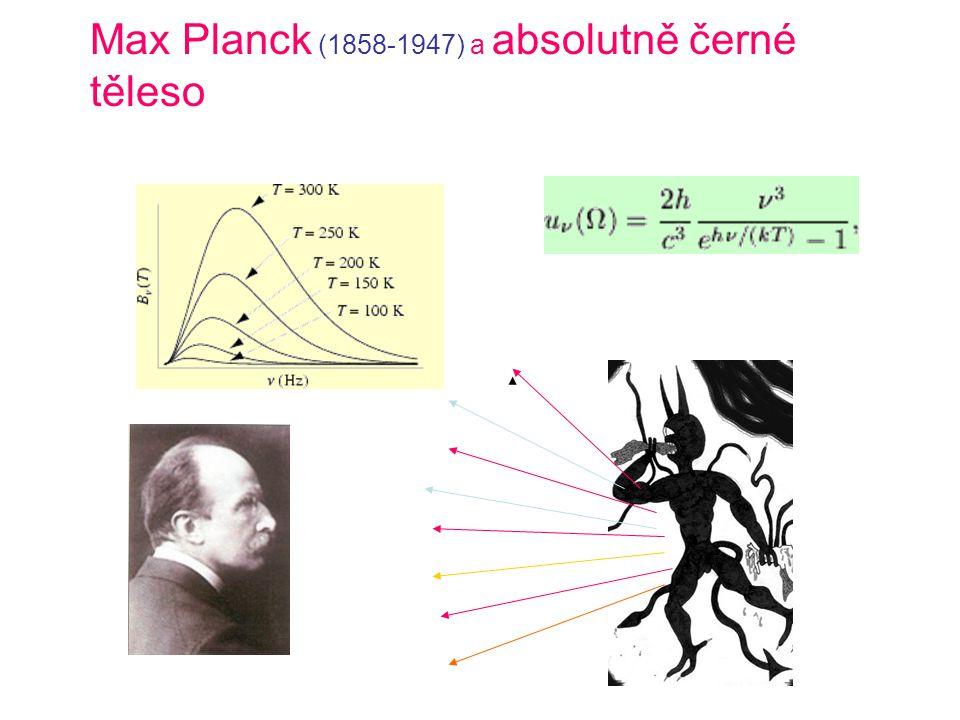 Max Planck (1858-1947) a absolutně černé těleso