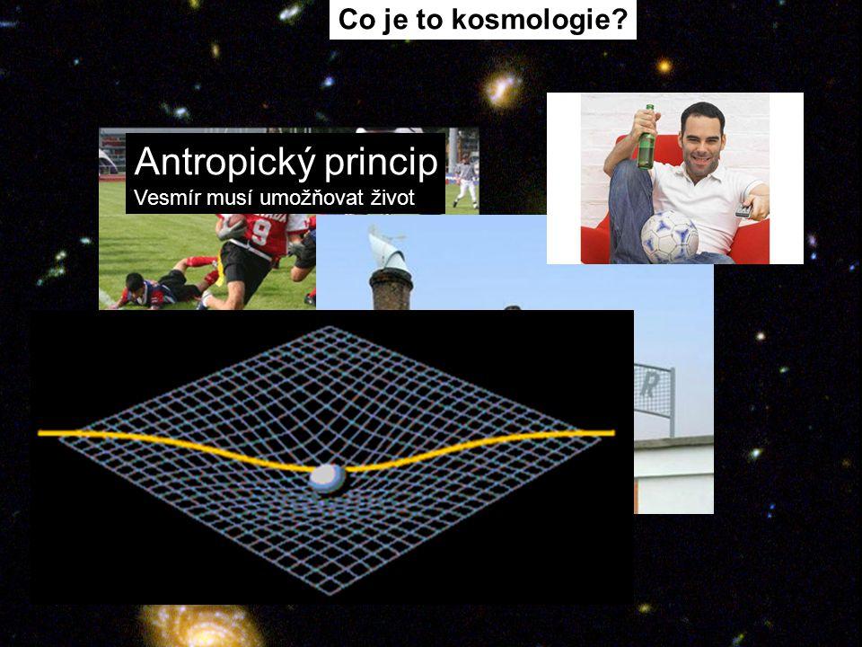 Co je to kosmologie Antropický princip Vesmír musí umožňovat život