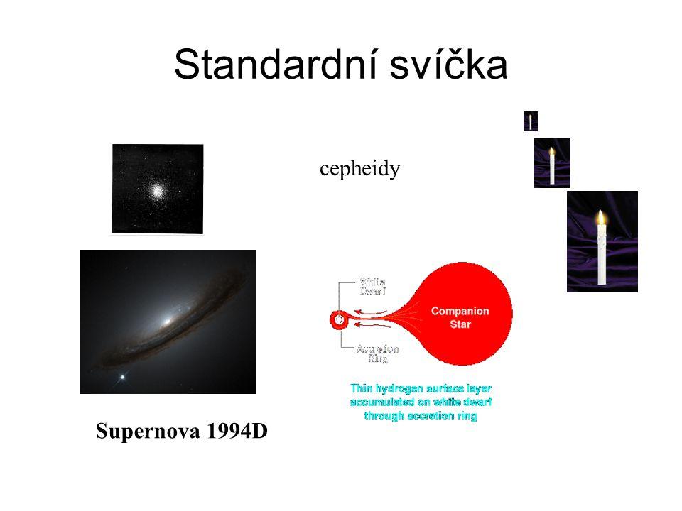 Standardní svíčka cepheidy Supernova 1994D