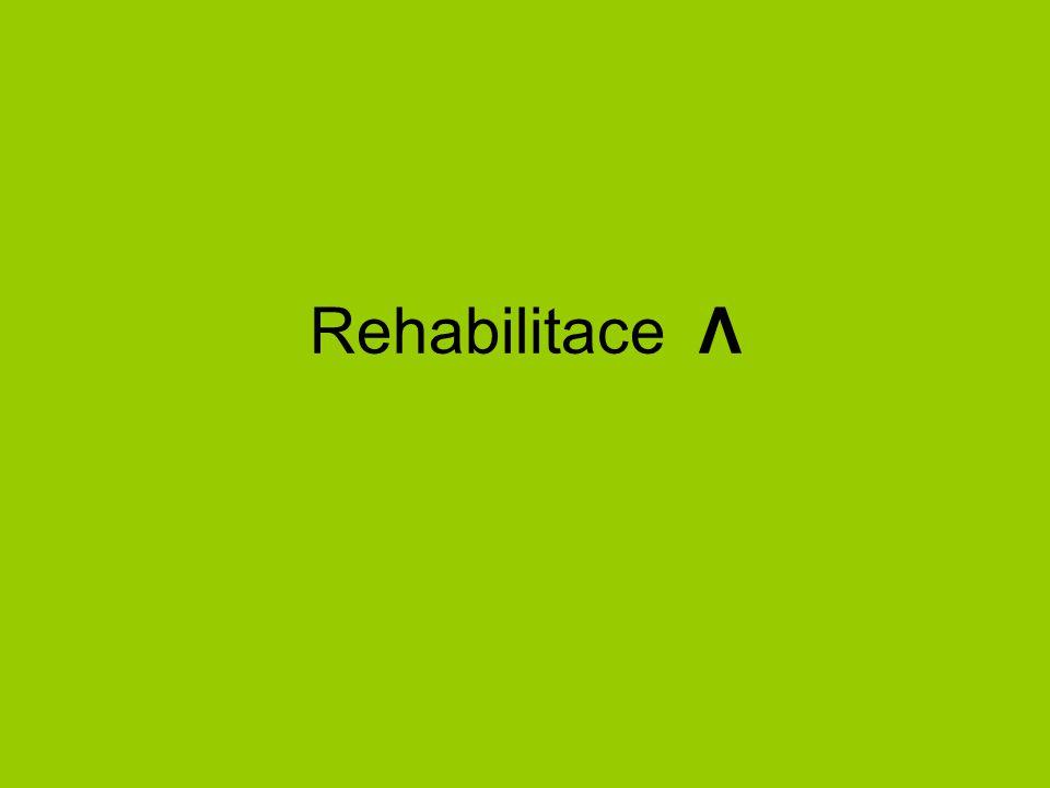 Rehabilitace Λ