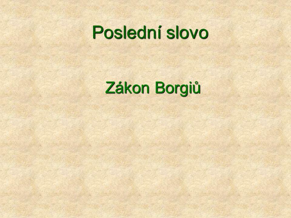 Zákon Borgiů