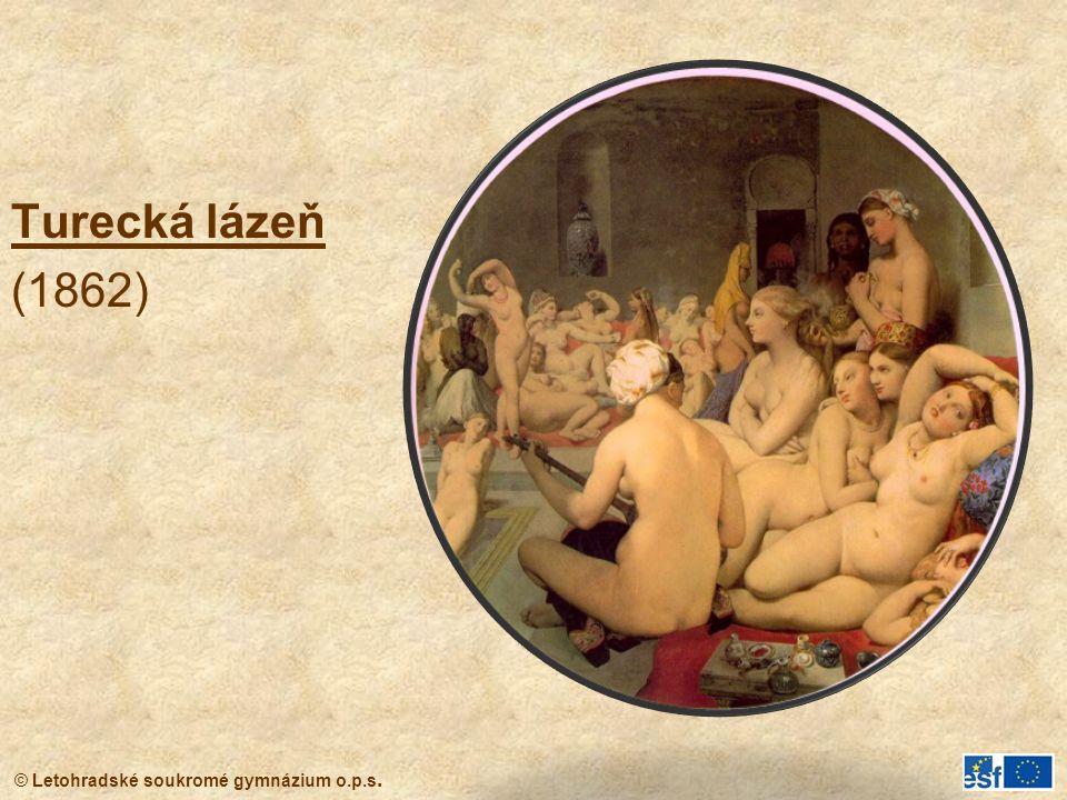 © Letohradské soukromé gymnázium o.p.s. Turecká lázeň (1862)