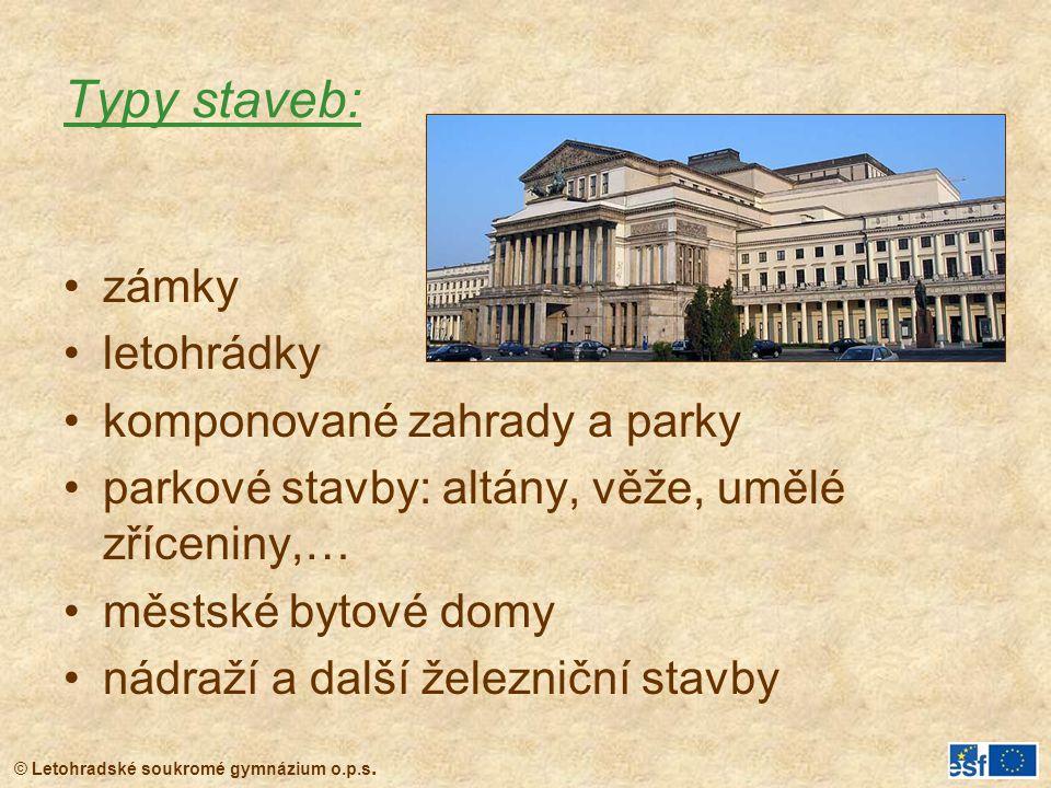 © Letohradské soukromé gymnázium o.p.s. Glyptotéka, Mnichov