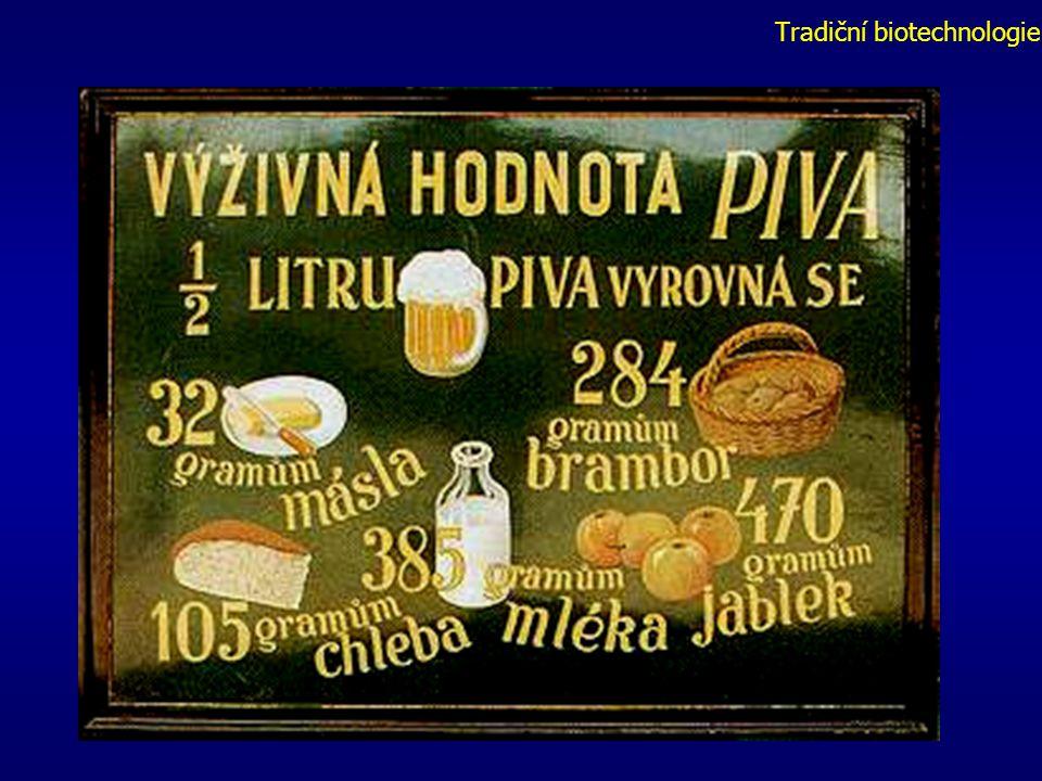 Tradiční biotechnologie Výroba piva