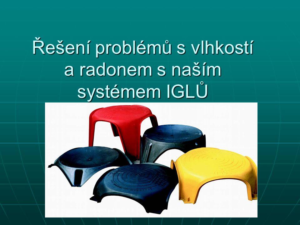 Řešení problémů s vlhkostí a radonem s naším systémem IGLŮ