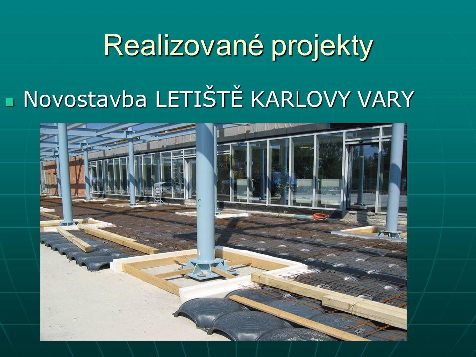 Realizované projekty Novostavba LETIŠTĚ KARLOVY VARY Novostavba LETIŠTĚ KARLOVY VARY