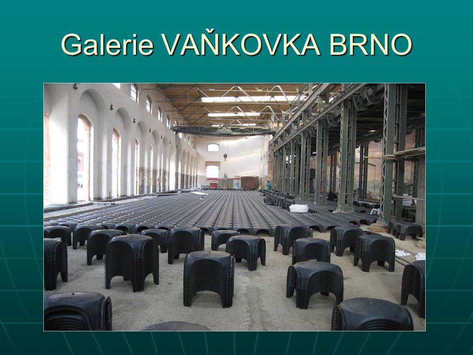 Galerie VAŇKOVKA BRNO