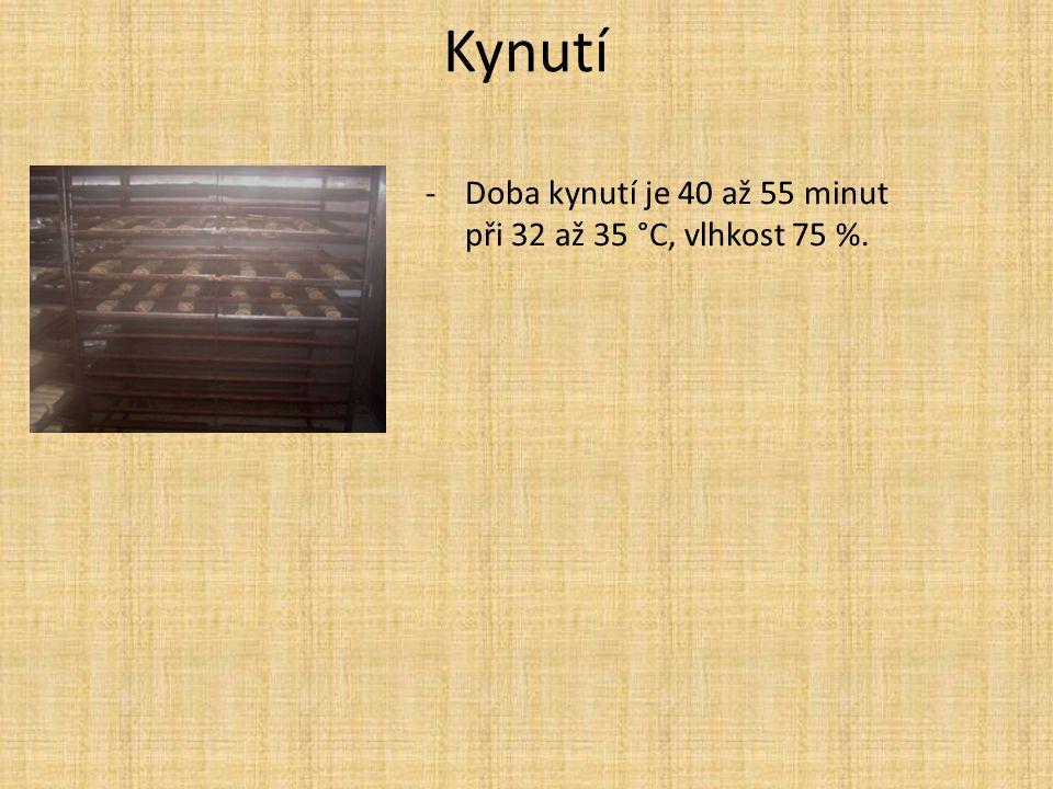 Kynutí -Doba kynutí je 40 až 55 minut při 32 až 35 °C, vlhkost 75 %.