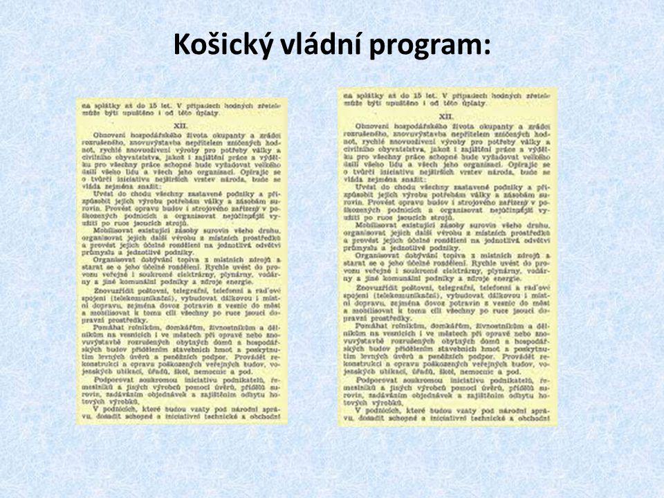 7)Na našem území operovala silná německá armáda: -jejich cílem bylo probít se amerického zajetí 8)České povstání: -vypuklo v mnoha městech (Prostějov, Nymburk, Poděbrady, Kladno,…) -organizovala je ČNR (Albert Pražák)
