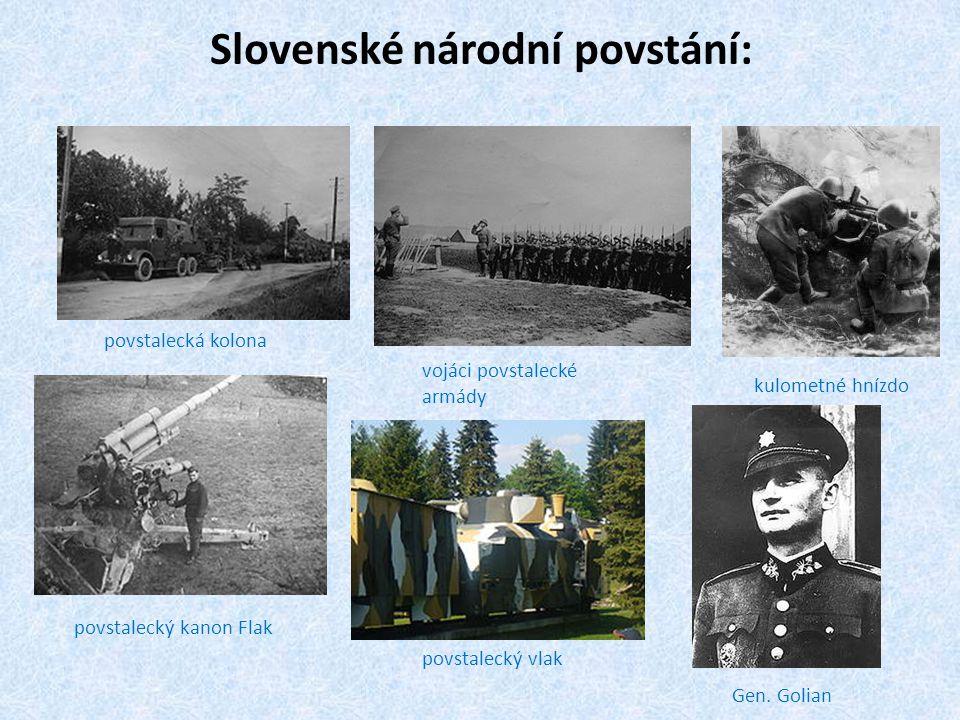 Slovenské národní povstání: Gen.