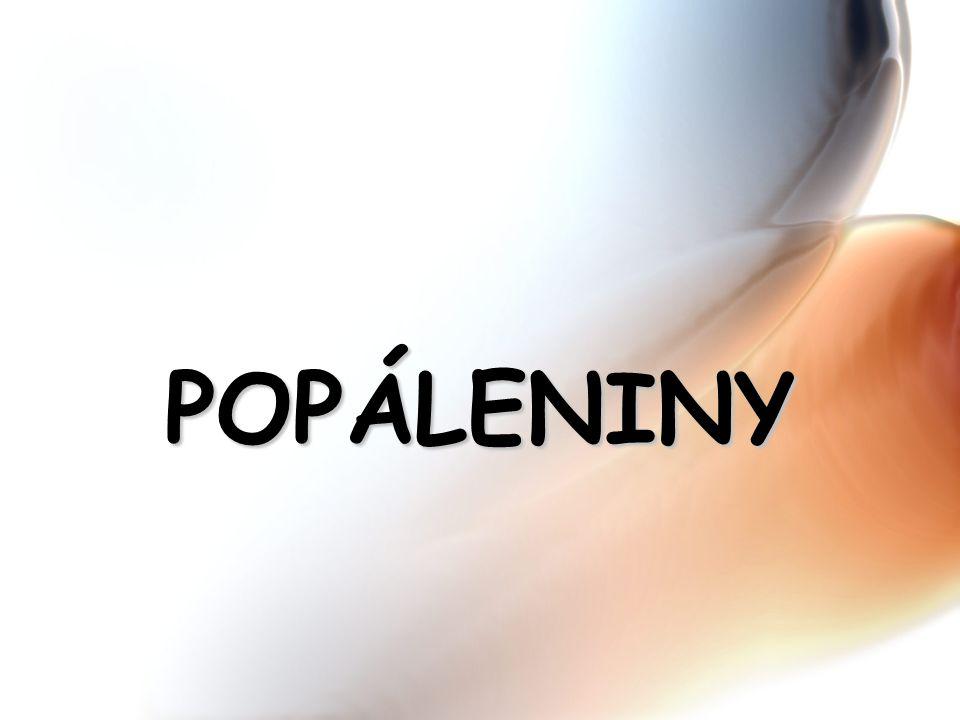 POPÁLENINY