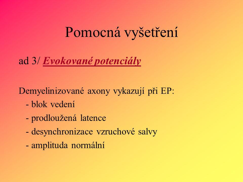 II.Symptomatická léčba 1.Ovlivnění spasticity 2. Ovlivnění sfinkterových poruch 3.