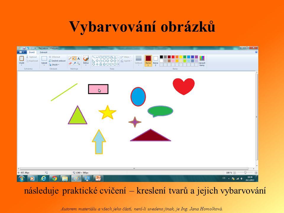 Přesun objektů -tlačítko Vybrat – označení objektu – přesun objektu myší -je vhodné zapnout funkci Průhledný výběr (nastaví průhlednou nebo neprůhlednou barvu pozadí ve výběru Autorem materiálu a všech jeho částí, není-li uvedeno jinak, je Ing.