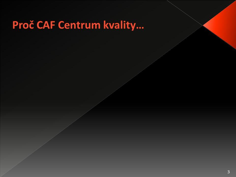  Pomoc úřadům s aplikací modelu CAF  Předání dlouholetých zkušeností s aplikací modelu  Zjednodušení zavádění modelu CAF  Propagace modelu CAF  Zlepšení způsobu a kvality zavádění modelu CAF 4