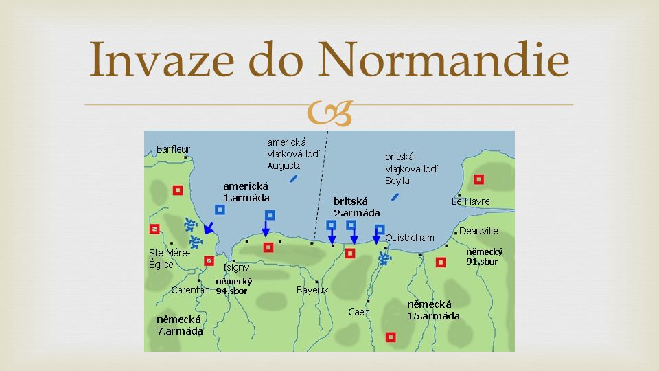  Invaze do Normandie