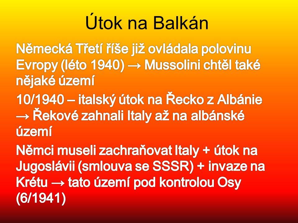 Útok na Balkán