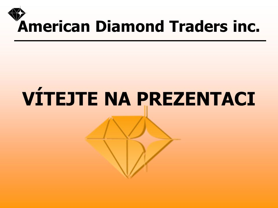 American Diamond Traders inc.O FIRMĚ ADT Inc.
