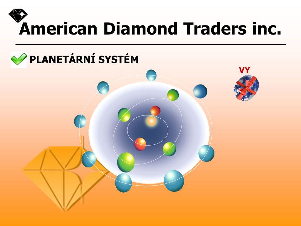American Diamond Traders inc. PLANETÁRNÍ SYSTÉM VY