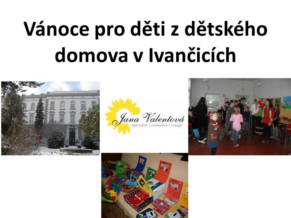 Vánoce pro děti z dětského domova v Ivančicích