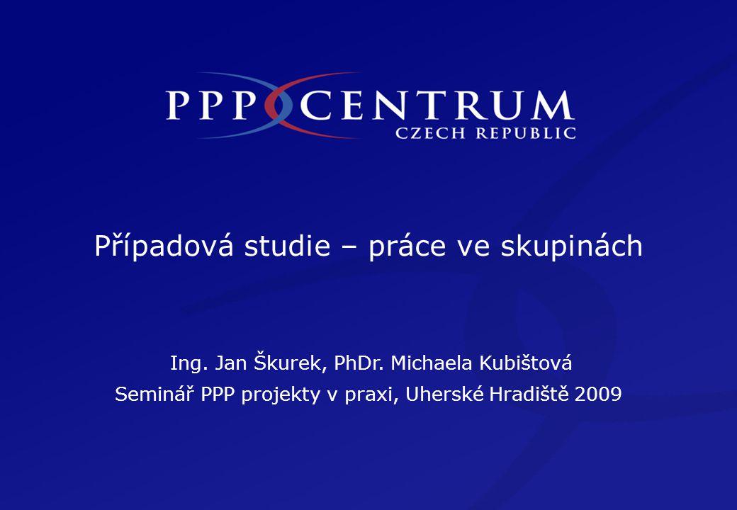 Případová studie – práce ve skupinách Ing. Jan Škurek, PhDr.