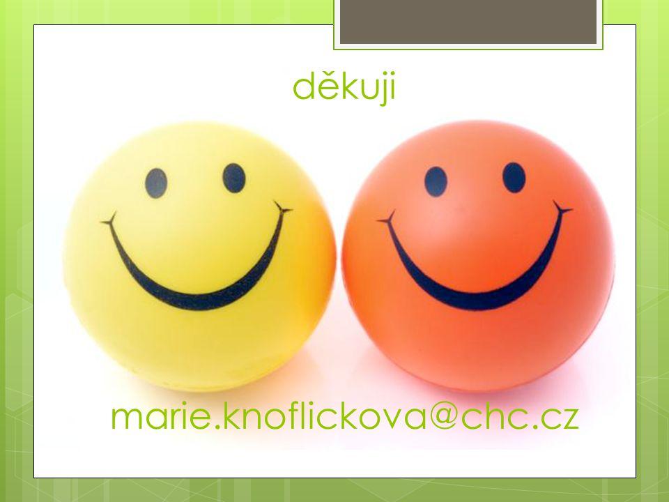 děkuji marie.knoflickova@chc.cz