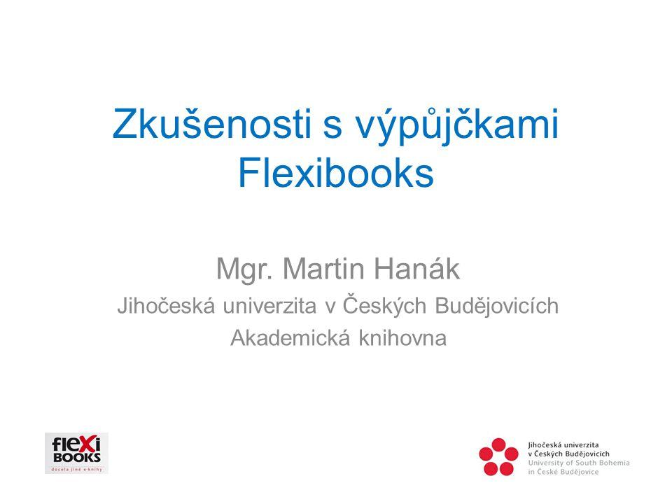 Zkušenosti s výpůjčkami Flexibooks Mgr.