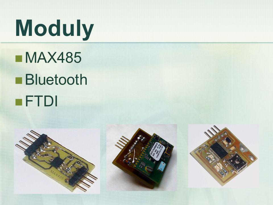 Moduly MAX485 Bluetooth FTDI