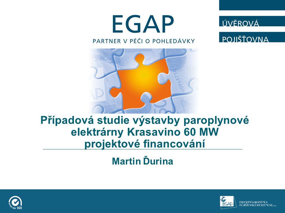Případová studie výstavby paroplynové elektrárny Krasavino 60 MW projektové financování Martin Ďurina