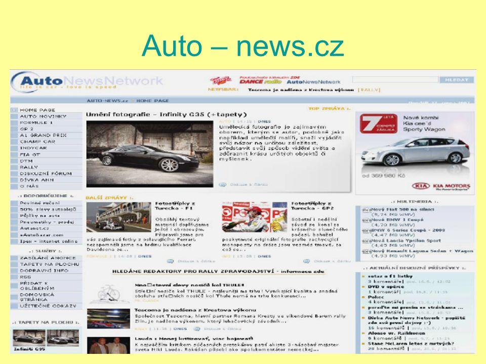 Auto – news.cz