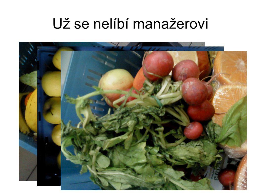 Předcházení vzniku Nepřeplněné prodejní regály - poškození obalů, vadnutí, mačkání Odpovídající počty zaměstnanců - včasný výběr před koncem trvanlivosti Dodávky zeleniny spíše ve vratných eurobedýnkách, než v papírových bedýnkách (recyklovatelné), omezení nevratných plastových i dřevěných bedýnek Snadný odběr potravinovými bankami