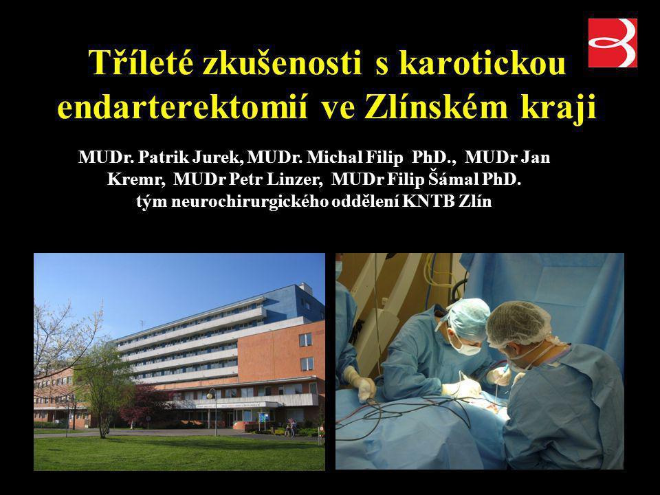 Karotická endarterektomie C.