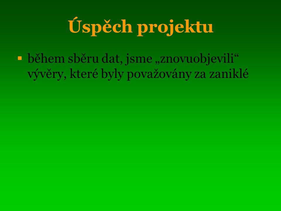 """Informování veřejnosti  prezentace na """"Setkání příznivců Slavkovského lesa v roce 2007 i 2008  info v místním tisku (ML listy, chebský deník)  """"křest proběhne v rámci slavnostního otevření """"Kynžvartských kyselek"""
