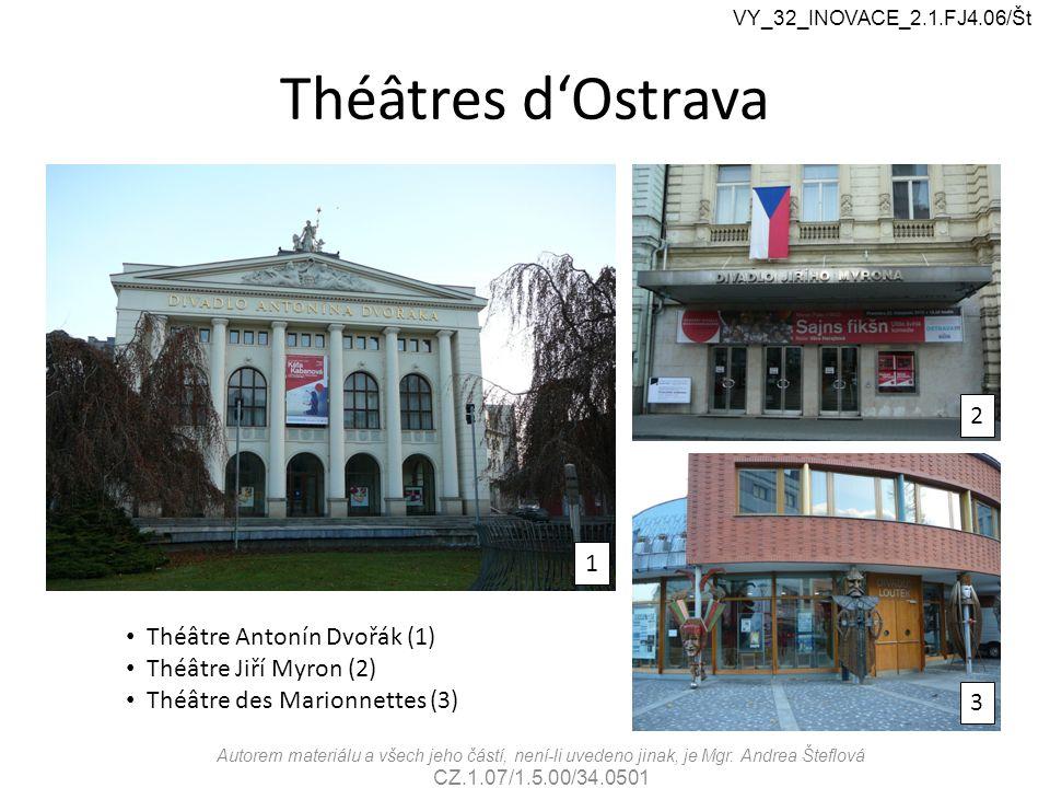 Ostrava, centre commercial VY_32_INOVACE_2.1.FJ4.06/Št Autorem materiálu a všech jeho částí, není-li uvedeno jinak, je Mgr.