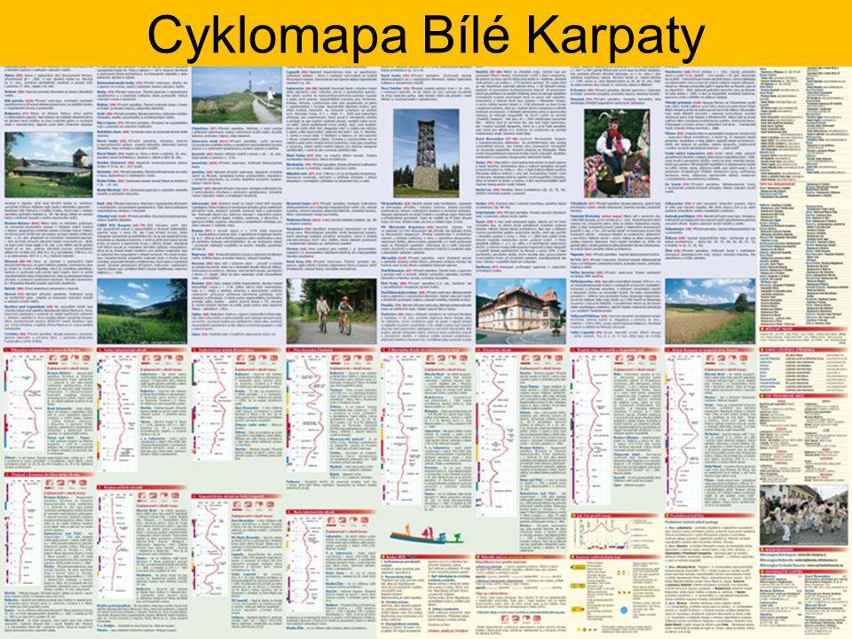 Cyklomapa Bílé Karpaty