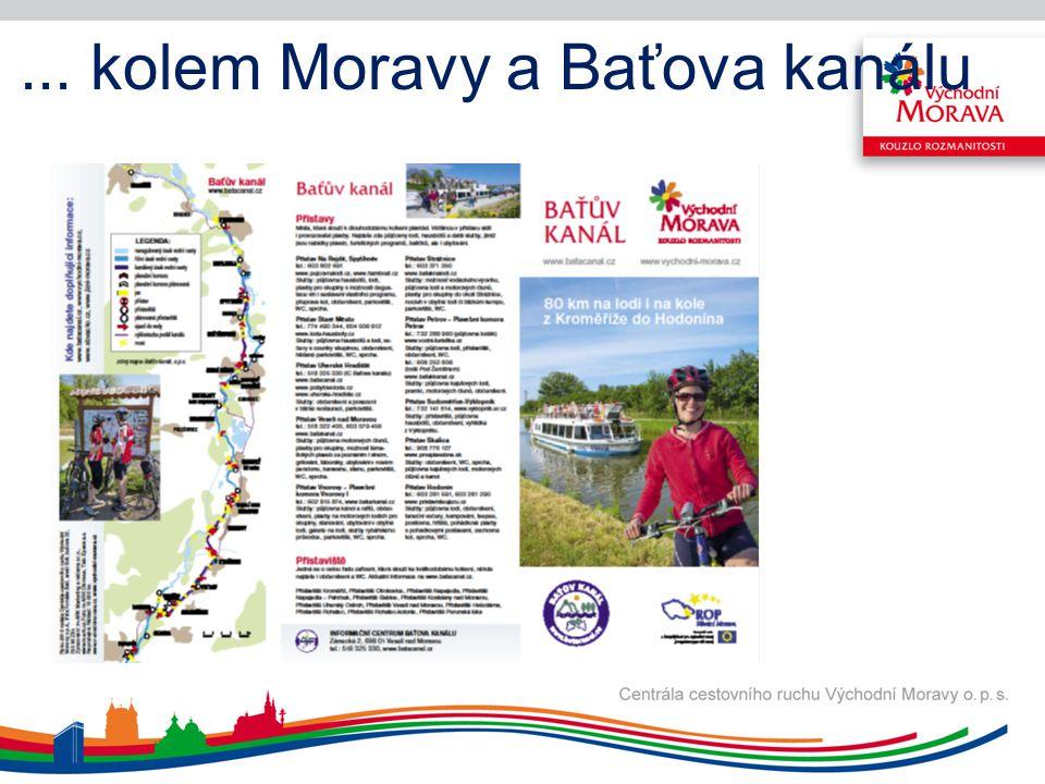 ... kolem Moravy a Baťova kanálu