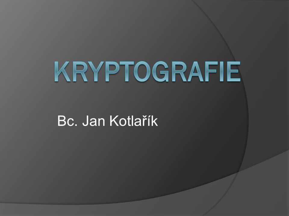  se vyznačuje existencí jediného klíče, který je využíván jak pro šifrování, tak pro dešifrování.