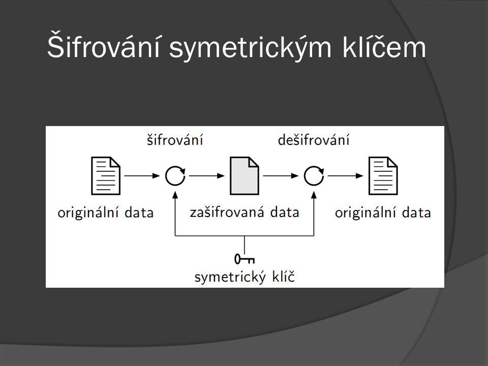 Šifrování symetrickým klíčem