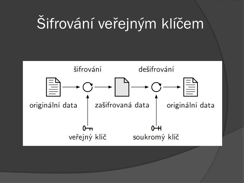 Šifrování veřejným klíčem