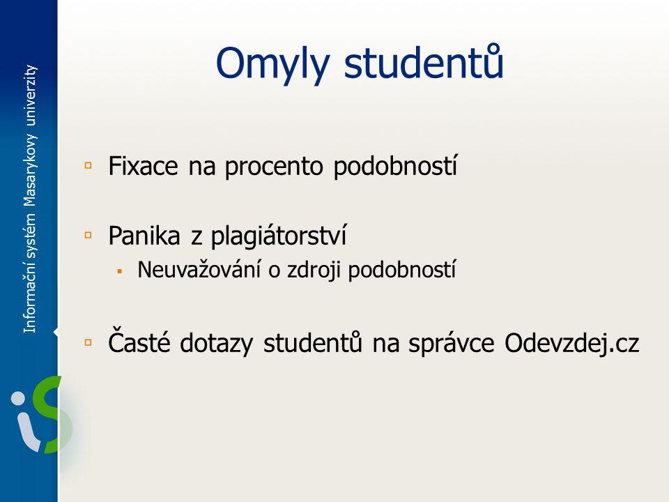 Placené dotazy ▫ Důvody pro zavedení ▫ Nejčastější typy dotazů ▫ Většina dotazů je na informace uvedené v FAQ Informační systém Masarykovy univerzity