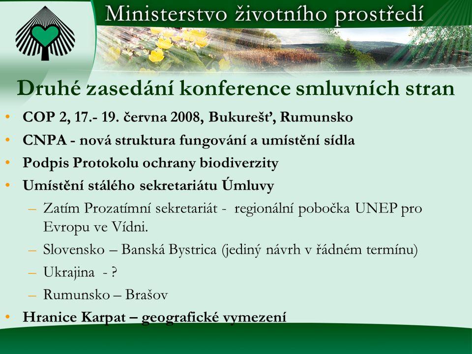 Druhé zasedání konference smluvních stran COP 2, 17.- 19.