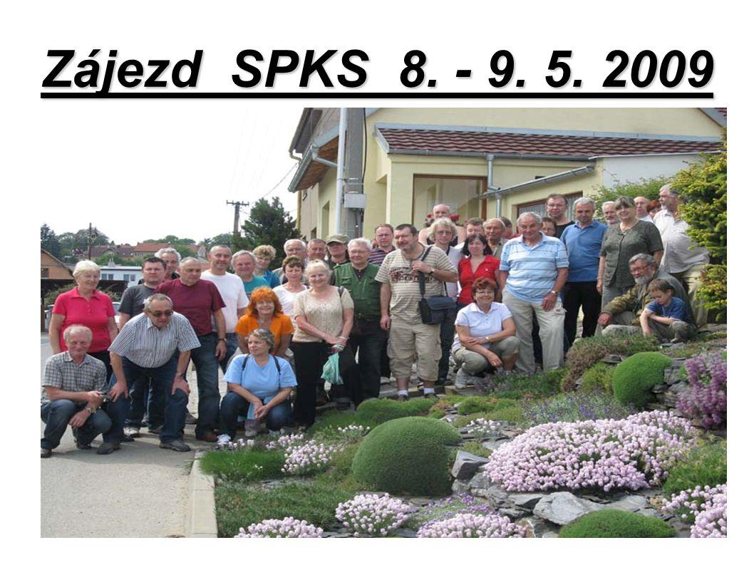 Zájezd SPKS 8. - 9. 5. 2009