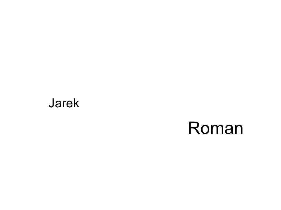 Roman Jarek