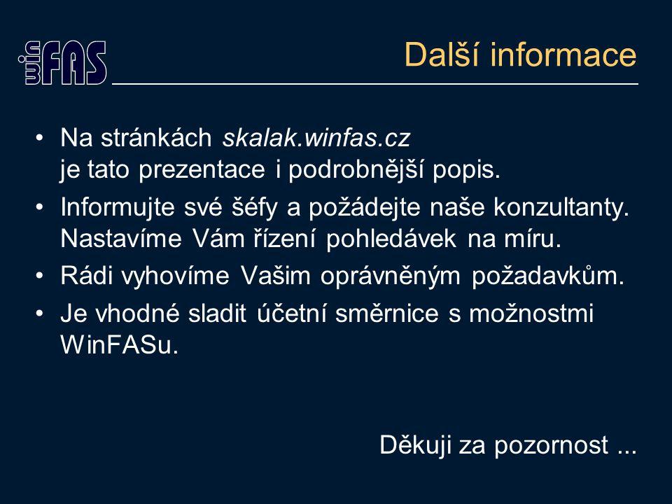 Další informace Na stránkách skalak.winfas.cz je tato prezentace i podrobnější popis.