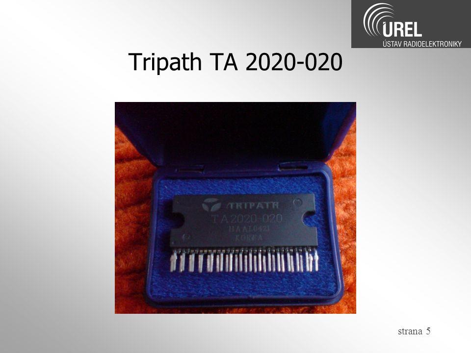 Tripath TA 2020-020 strana 5