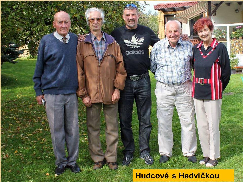 Naše sestava: MUDr. Jeník Hudec, Vladimír Hudec, Jaroslav Hudec, RNDr.