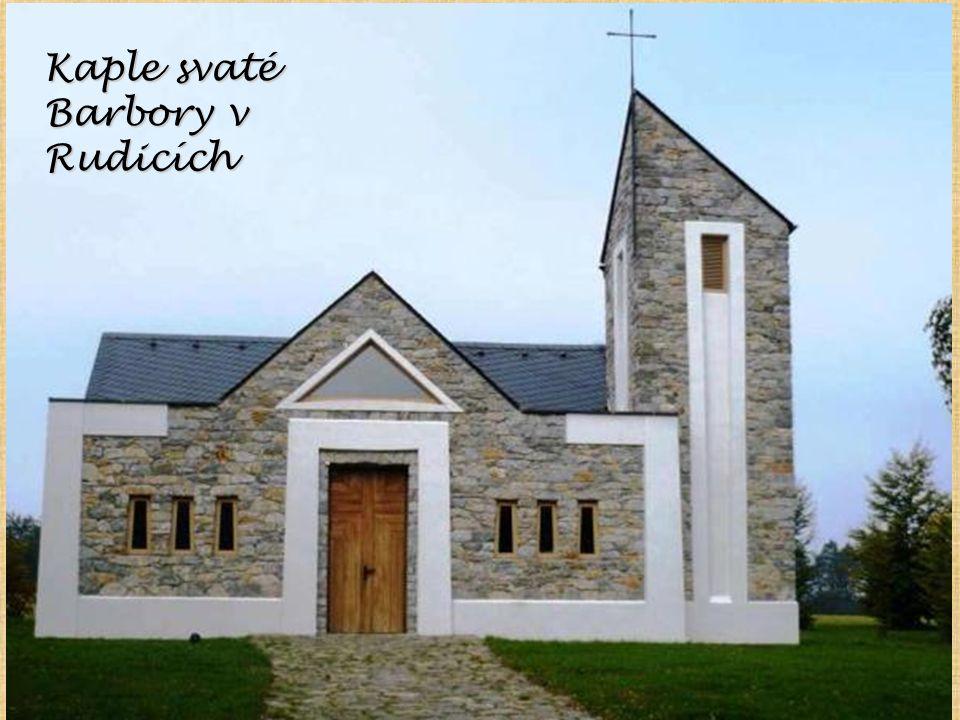 Kaple svaté Barbory v Rudicích