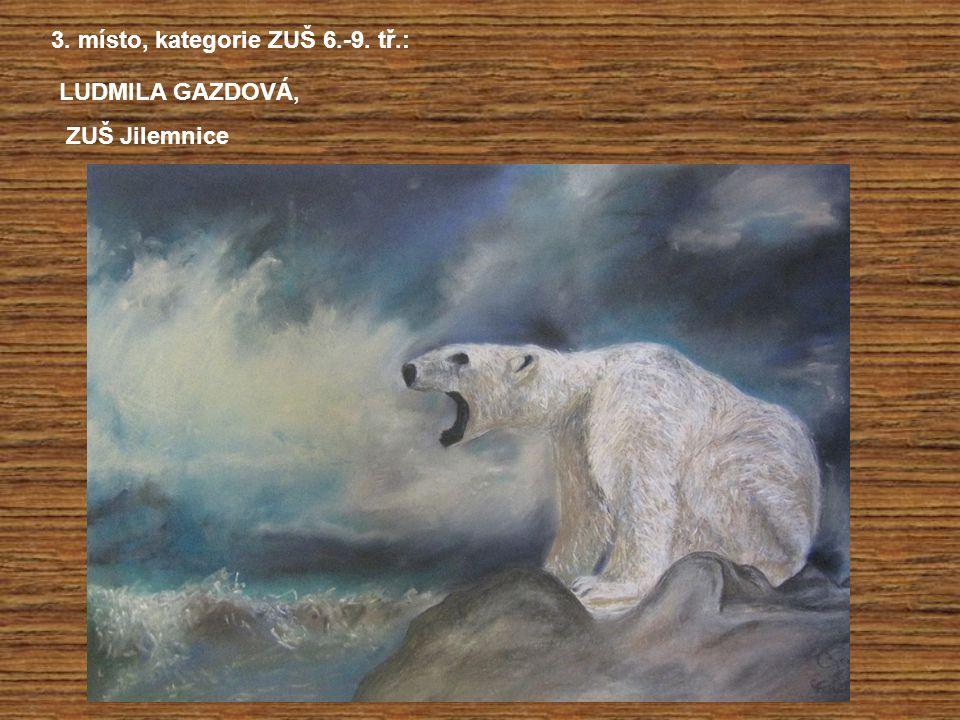 3. místo, kategorie ZUŠ 6.-9. tř.: LUDMILA GAZDOVÁ, ZUŠ Jilemnice