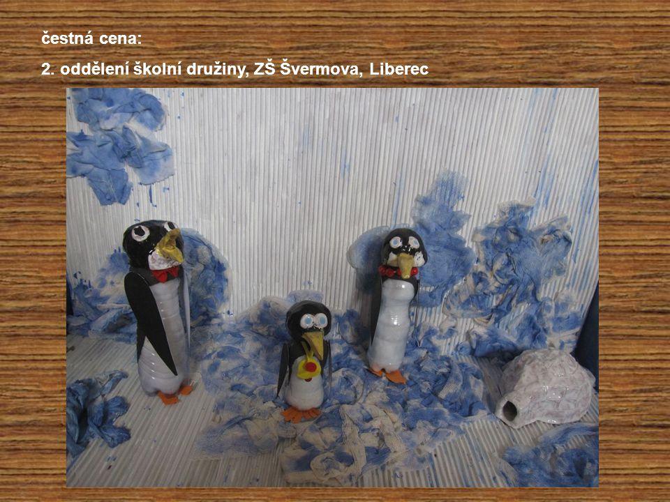 čestná cena: 2. oddělení školní družiny, ZŠ Švermova, Liberec