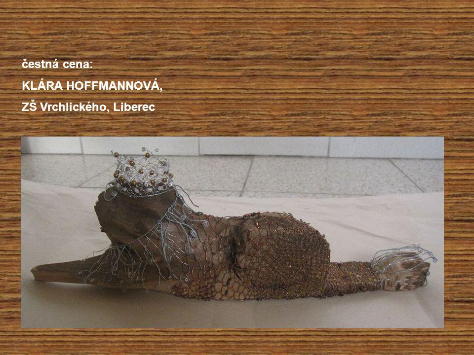 čestná cena: KLÁRA HOFFMANNOVÁ, ZŠ Vrchlického, Liberec