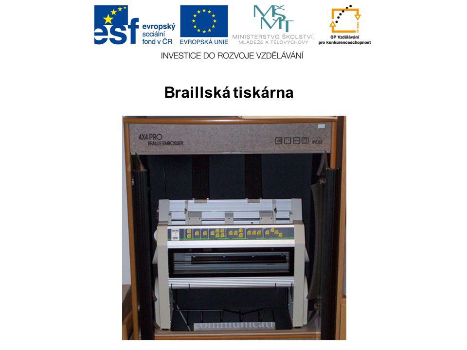 Braillská tiskárna